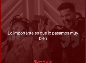 """Ricky Martin compartió un adelanto del explosivo """"Qué rico fuera"""", junto a Paloma Mami"""
