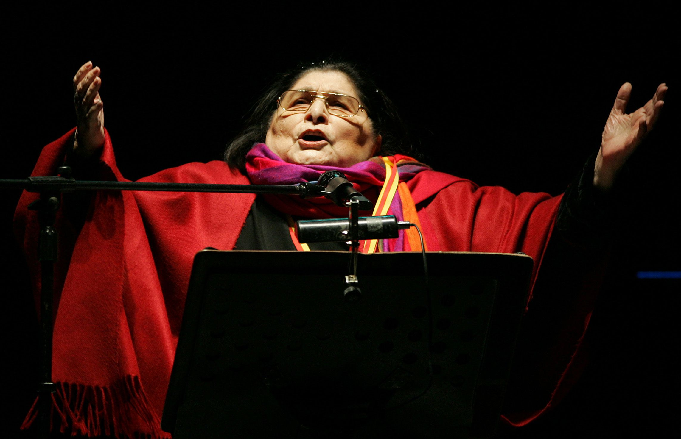 """Cantamos a Mercedes Sosa"" será este sábado en el Centro Cultural Kirchner (Foto: AP/ Dolores Ochoa)"
